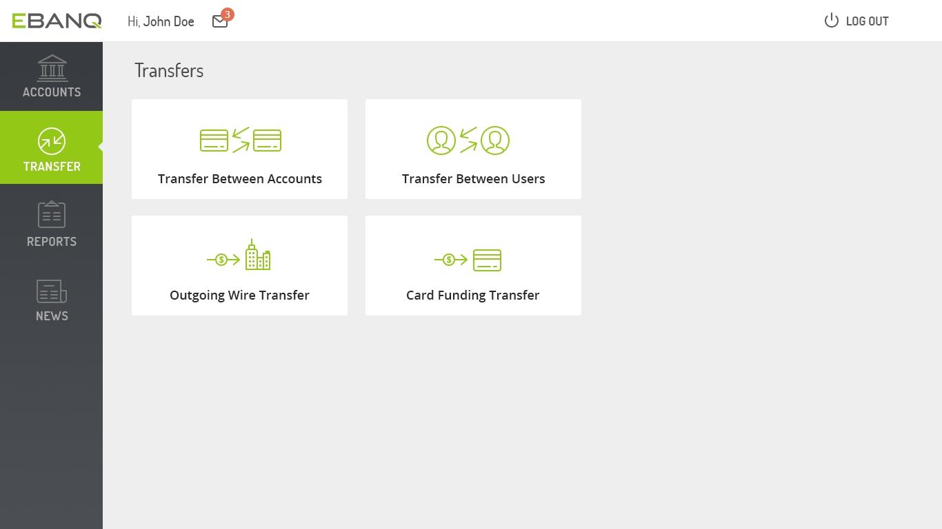 Features – EBANQ® Online Banking Software